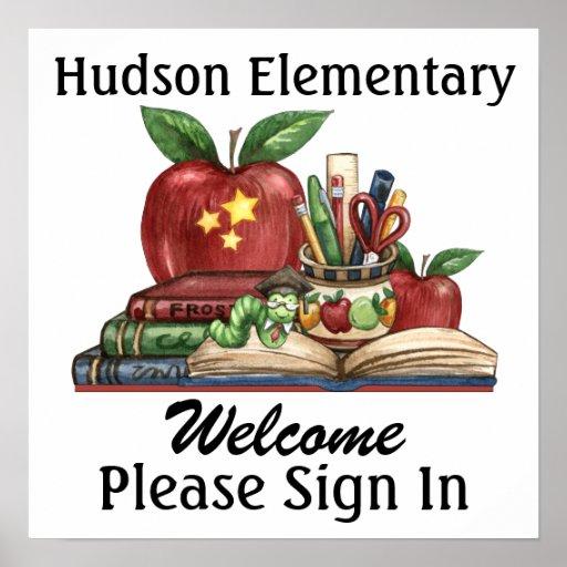School - Teacher - SRF Poster