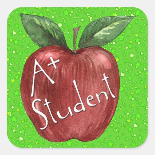 School - Teacher - SRF Square Sticker