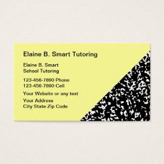 School Teacher Tutor Business Cards