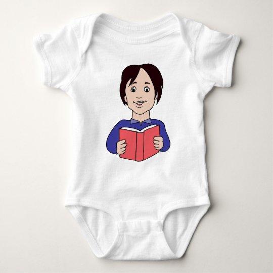 School time, back to school baby bodysuit