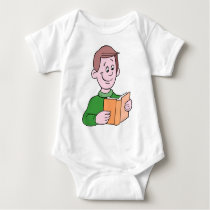 School time, back to school baby bodysuit