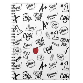 School Time Spiral Notebook