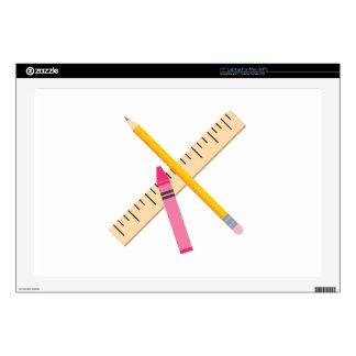 School Tools Laptop Decal