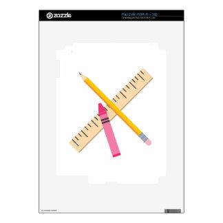 School Tools Skin For iPad 2