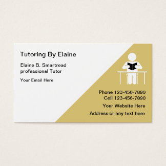 School Tutoring Business Cards