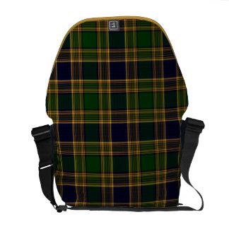 School Uniform Plaid Rickshaw Messenger Bag