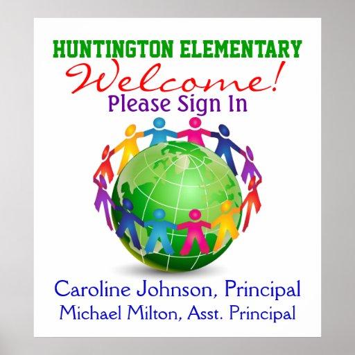 school welcome poster