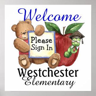 School Welcome Poster - SRF