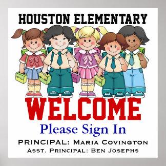 School Welcome - SRF Print