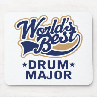 School Worlds Best Drum Major Gift Mouse Pad