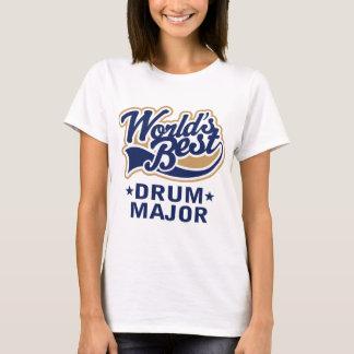 School Worlds Best Drum Major Gift T-Shirt