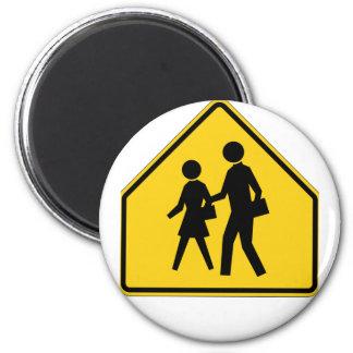 School Zone Highway Sign Magnets