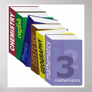 Schoolbooks Poster