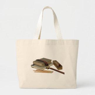 SchoolBooksPencils071709 Tote Bags