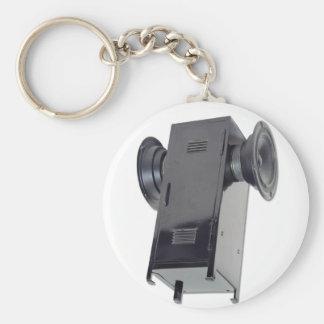 SchoolBoomBoxTall Basic Round Button Keychain