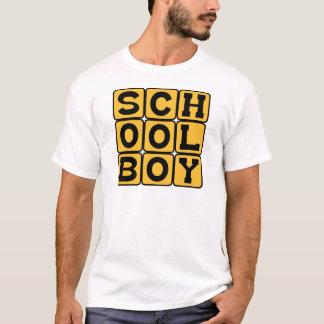 Schoolboy, Male Student T-Shirt