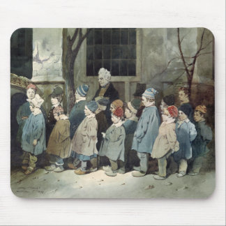 Schoolboys in the Playground Mouse Pad