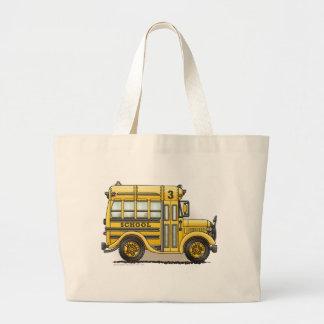 Schoolbus Bags/Totes Large Tote Bag