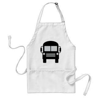 schoolbus icon adult apron