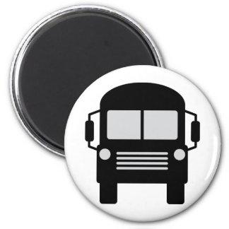 schoolbus icon magnet