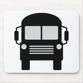 schoolbus icon mouse pad