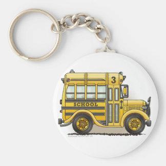 Schoolbus Key Chains