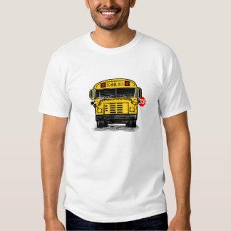 schoolbuswithstopsignteeshirt t shirt