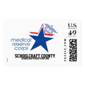 Schoolcraft Co. MRC Postage Stamp