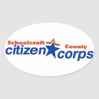 Schoolcraft County Citizen Corps Stickers