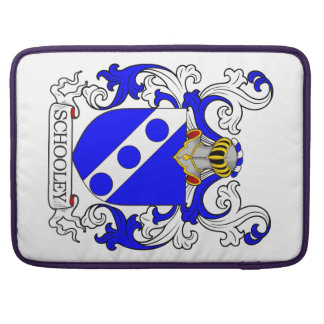 Schooley Coat of Arms Sleeve For MacBooks