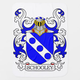 Schooley Coat of Arms Swaddle Blankets