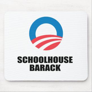 SCHOOLHOUSE BARACK MOUSE PAD