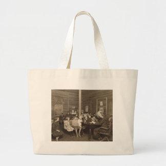 Schoolhouse by Lewis Hine, 1921 Large Tote Bag