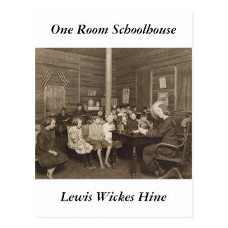 Schoolhouse by Lewis Hine, 1921 Postcard
