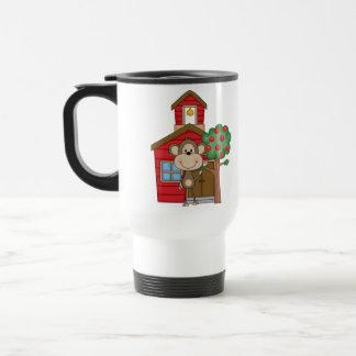 Schoolhouse Monkey Travel Mug