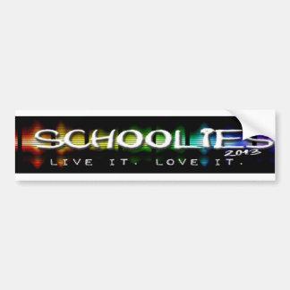 Schoolies 2013 Clothing & Souvenirs Bumper Sticker