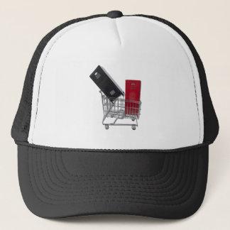 SchoolLockersInShoppingCart010212 Trucker Hat