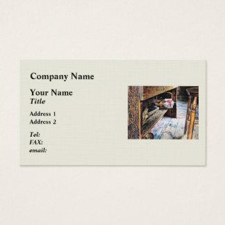 Schoolmarm's Desk Business Card