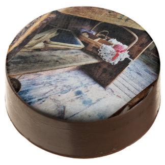 Schoolmarm's Desk Chocolate Covered Oreo