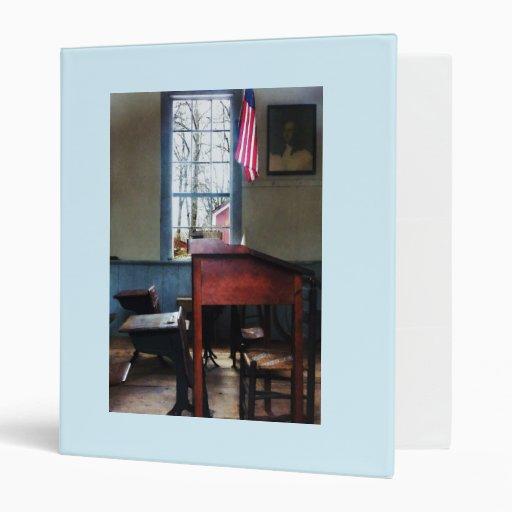 Schoolmaster's Desk Vinyl Binders