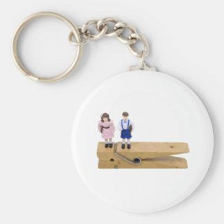 SchoolReminder093009 Basic Round Button Keychain