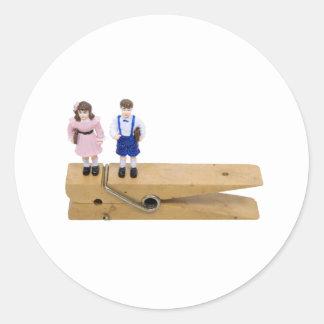 SchoolReminder093009 Classic Round Sticker