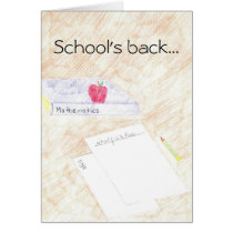 School's back... card