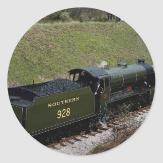 """Schools Class No. 928 """"""""Stowe"""""""" at Horsted Keynes Stickers"""
