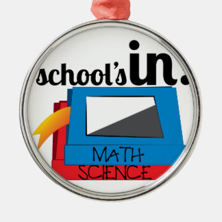 Schools In Metal Ornament