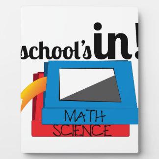 Schools In Plaque
