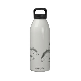 Schools In - Sumi-e Salmon Reusable Water Bottles