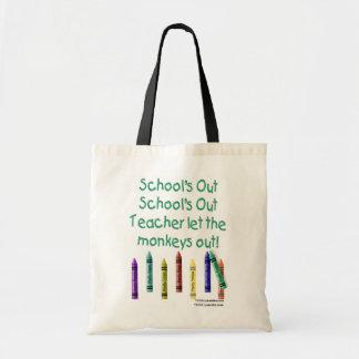 Schools Out Canvas Bag