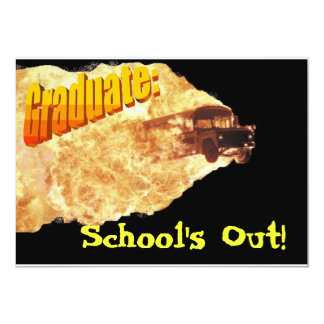 School's Out Card