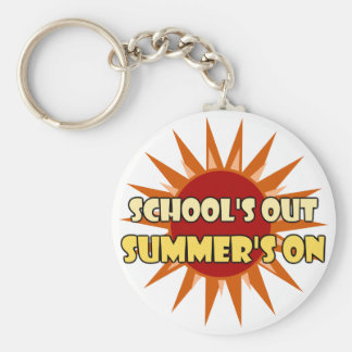 School's Out Key Chains